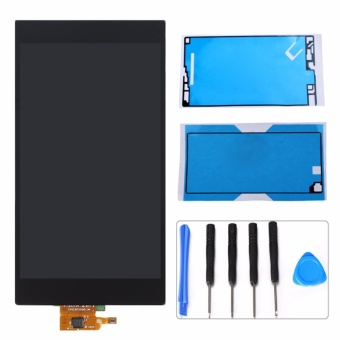 For Sony Xperia Z Ultra XL39h XL39 C6802 LCD Display Touch ScreenDigitizer Assembly+Adhesive Sticker+Tools - intl