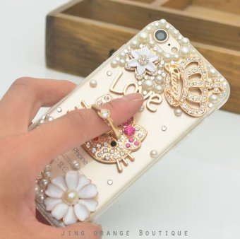 For VIVO V5 Plus Hard Phonecase Fashion Phone Case Cover CasingCases With Ring Stand - intl - 4