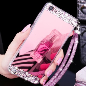 For VIVO Y55 Phone Case Mirror Casing Lady Phone Cover - intl