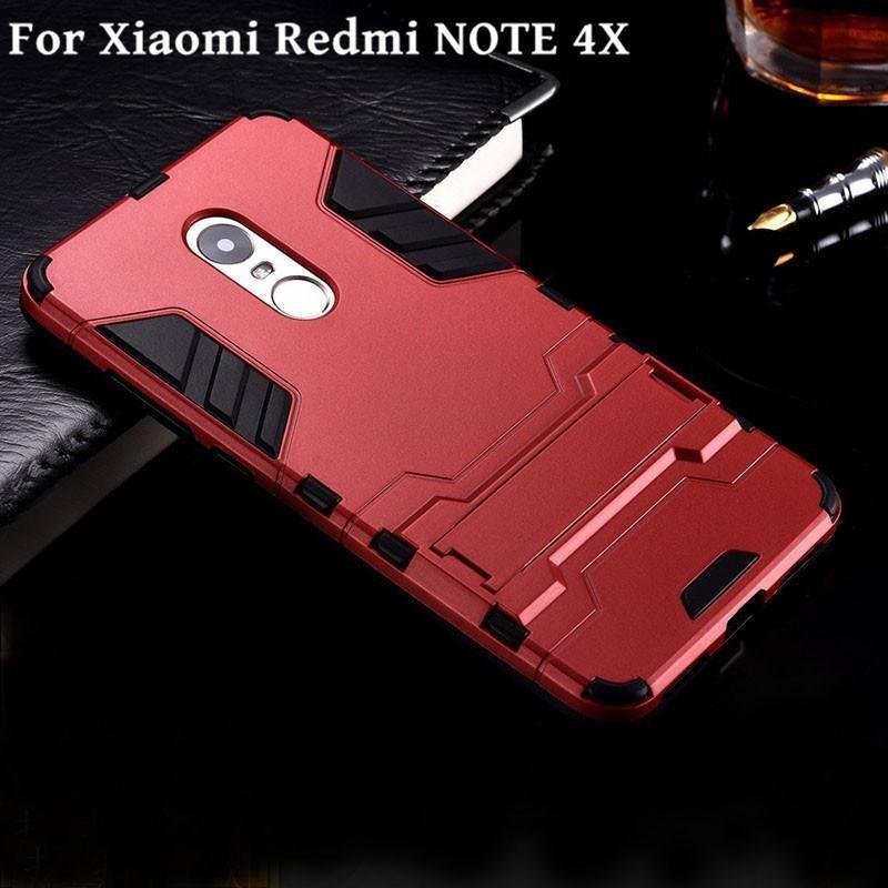 ... For Xiaomi Redmi Note 4X Hybrid 2 in1 Case Hard Plastic/PC mattePhone Case soft ...