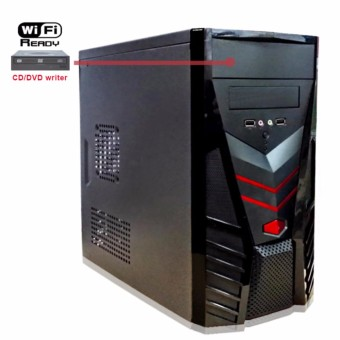Fortress Basic-WDVD Gaming PC CPU System Unit Only