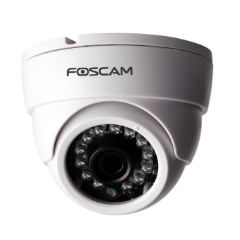 Foscam FI9851P 1MP CCTV Dome Camera (White)
