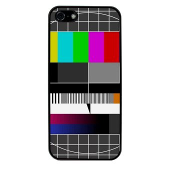 Freaky Funny Pattern Phone Case for iPhone 5C (Black)