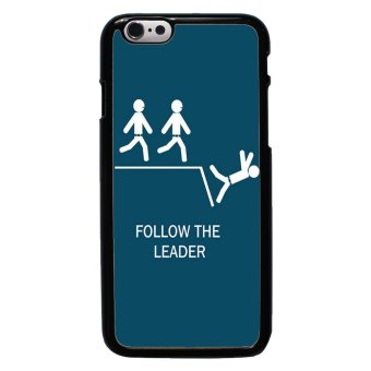 Freaky Funny Pattern Phone Case For iPhone 6/6s (Black)
