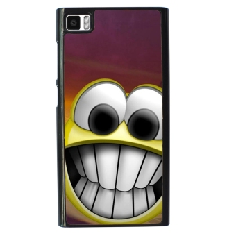 Freaky Funny Pattern Phone Case for Xiaomi Mi3 (Black)