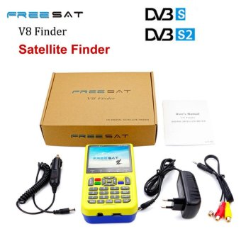 Freesat V8 Finder HD DVB-S2 High Definition satlink Satellite MPEG-4 3.5inch LCD Display - intl