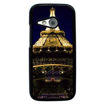 FRENCH BULLDOG Pattern Phone Case for HTC One M8 Mini (Black)