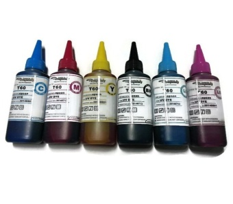 Frequency UV Dye Ink for Epson Printer CMYK LC LM 6 bottles Set