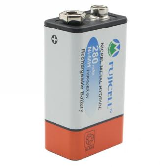 Fujicell Ni-MH FHR-3UEX-9V 9V 280mAh Rechargeable Battery - 3