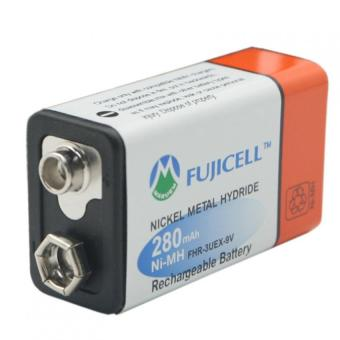 Fujicell Ni-MH FHR-3UEX-9V 9V 280mAh Rechargeable Battery - 2