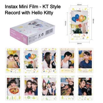 Fujifilm Instax Mini 10 Sheets Hello Kitty KT Sketch Film PhotoPaper Instant Print for Fujifilm Instax Mini7s/8/25/50s/70/90SP-1/SP-2 Smartphone Printer - intl