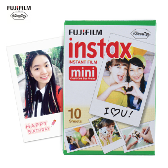Fujifilm Instax Mini 10 Sheets White Film Photo Paper Snapshot Album Instant Print for Fujifilm Instax Mini 7s/8/25/90 - intl
