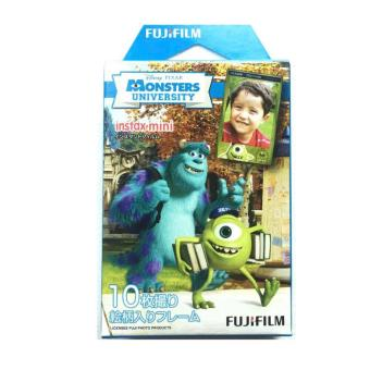 Fujifilm Instax Mini Film Monsters University Design (10 Sheets)