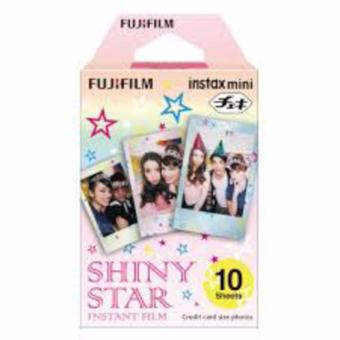 Fujifilm Instax Mini Film Shiny Star (10 Sheets)