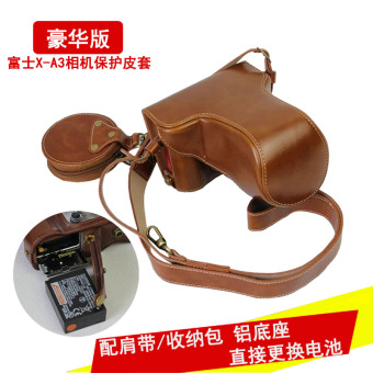 Fujifilm x-a3/x-a10/xa10 shoulder sleeve photography bag protective leather cover
