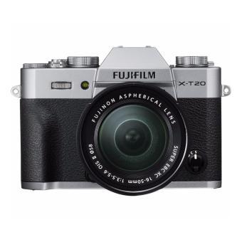 Fujifilm X-T20 24Mega Pixel Kit w/ XC16-50mm Len's (Silver) + 8GBSD Memory Card - 3