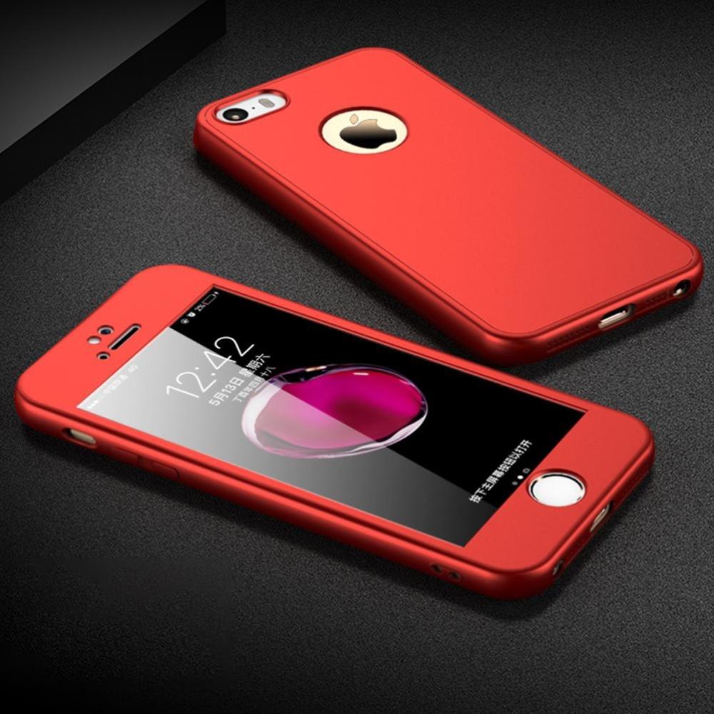 ... Full-Body Case For iPhone 5 / 5s Soft TPU Matte Finish Slim Cover 2in ...