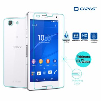 Full Body Tempered Glass for Sony Xperia Z3 Compact Screen Protector Front Back Explosion-Proof Film for Xperia Z3 Mini