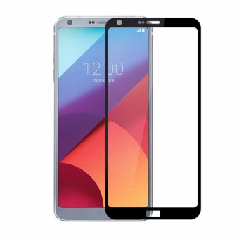 Full Covered Curved Tempered Glass Screen Protector for LG G6 -intl