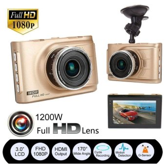 Full HD 1080P Car DVR CCTV Dash Camera G-sensor Vehicle Video CamRecorder - intl