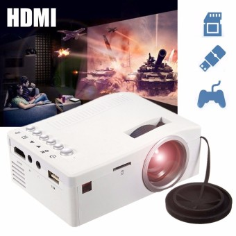Full HD 1080P Home Theater LED Mini Portable Projector Cinema USB TV VGA SD AV - intl