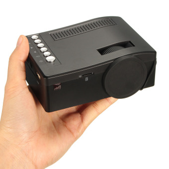 Full HD 1080P Input Multimedia Home Theater LED Mini Projector Cinema TV VGA MH - 5