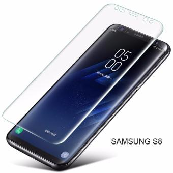 Full Screen 3D Curved Tempered Glass Screen Protector for SamsungS8 (Transparent) - intl Price Philippines