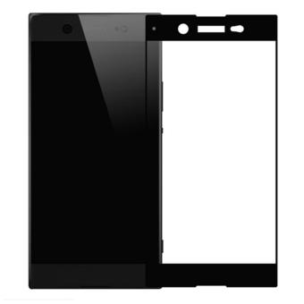 Full Tempered Glass Protector for Sony Xperia XA1 (Black)