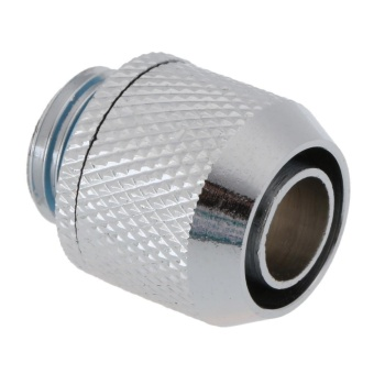 G1/4 External Fitting Thread for 9.5 X 12.7 mm PC Water CoolingSystem Tube(Silver)-Point - intl - 4