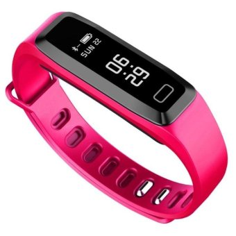G15 Wristband Blood Pressure Blood Oxygen Monitor Smart Watch Heart Rate Smart Band Bluetooth Waterproof Fitness Tracker Bracelet - intl