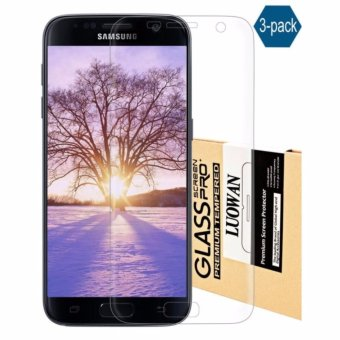 Galaxy S7 Edge Screen Protector, LucaSng [3-Pack][HD Ultra Clear Film] [Full Coverage] PET Screen Protectors - intl