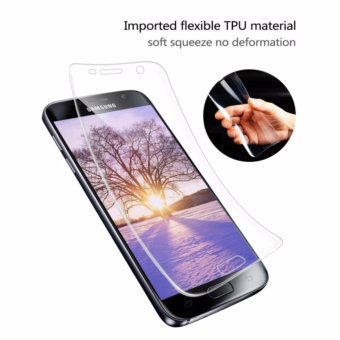 Galaxy S7 Edge Screen Protector, LucaSng [3-Pack][HD Ultra Clear Film] [Full Coverage] PET Screen Protectors - intl - 4