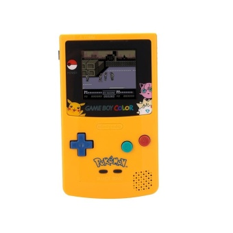 Game Boy Color Gameboy Console Handheld Classic Battery Operated Colorful - intl