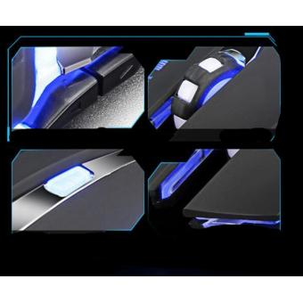 Game mouse silent mouse USB wired mouse gaming office mouse black - intl - 3