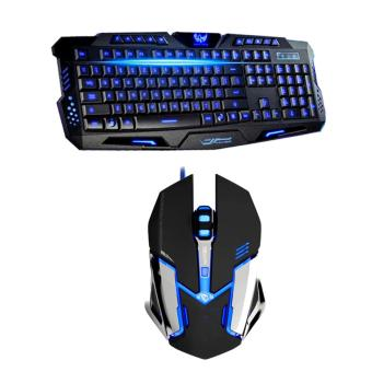 Gaming USB Keyboard and forev ST-18 USB GAMING Mouse Combo