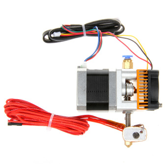 Geeetech MK8 3D Printer Extruder 0.3mm Nozzle/1.75mm Filament -Silver - 2