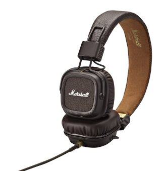 Genuine Marshall Major headphones With Mic Deep Bass DJ HiFi Headset Professional DJ Monitor (Brown) Price Philippines