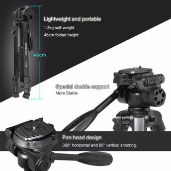 Genuine YUNTENG VCT-668 Professional Photography Camera Pro Tripodwith Damping Head Fluid Pan For Canon Nikon Sony DSLR Camera Gopro - 3