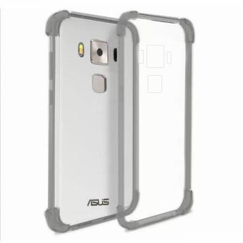 "German Import Shockproof Silicone Clear Case For Asus Zenfone 3 Max(5.5"") (ZC553KL) (Smoke Grey) Price Philippines"
