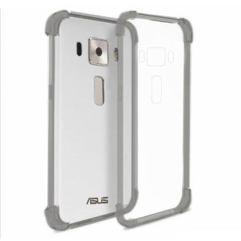 "German Import Shockproof Silicone Clear Case for ASUS Zenfone 3(5.2"") (ZE520KL) (Smoke Grey) Price Philippines"
