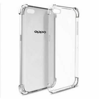 German Import Shockproof Silicone Clear Case for Oppo F1s / A59(Clear)