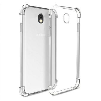 German Import Shockproof Silicone Clear Case For Samsung Galaxy J7Pro (Clear)