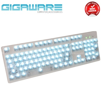 Gigaware 104 Key Transparent Light Transmitting ABS Keycaps forMechanical Keyboard Price Philippines
