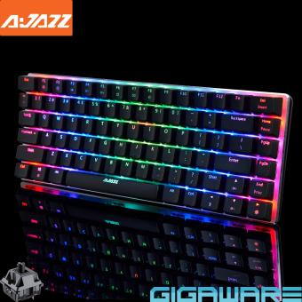 Gigaware AJAZZ AK33 RGB 82 Key Mechanical Keyboard (Zorro BlackSwitch)