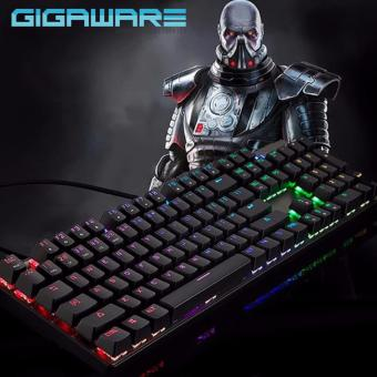 GIGAWARE Motospeed CK104 Full RGB Mechanical Keyboard (Outemu Blue Switch) (Clicky & Tactile) (black) Price Philippines