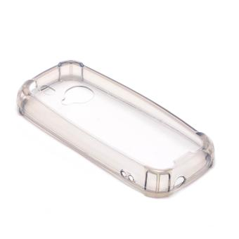 Glamorosa Mobile Clear Silicone Shock Proof Case for Nokia 3310(2017) (Black) - 2