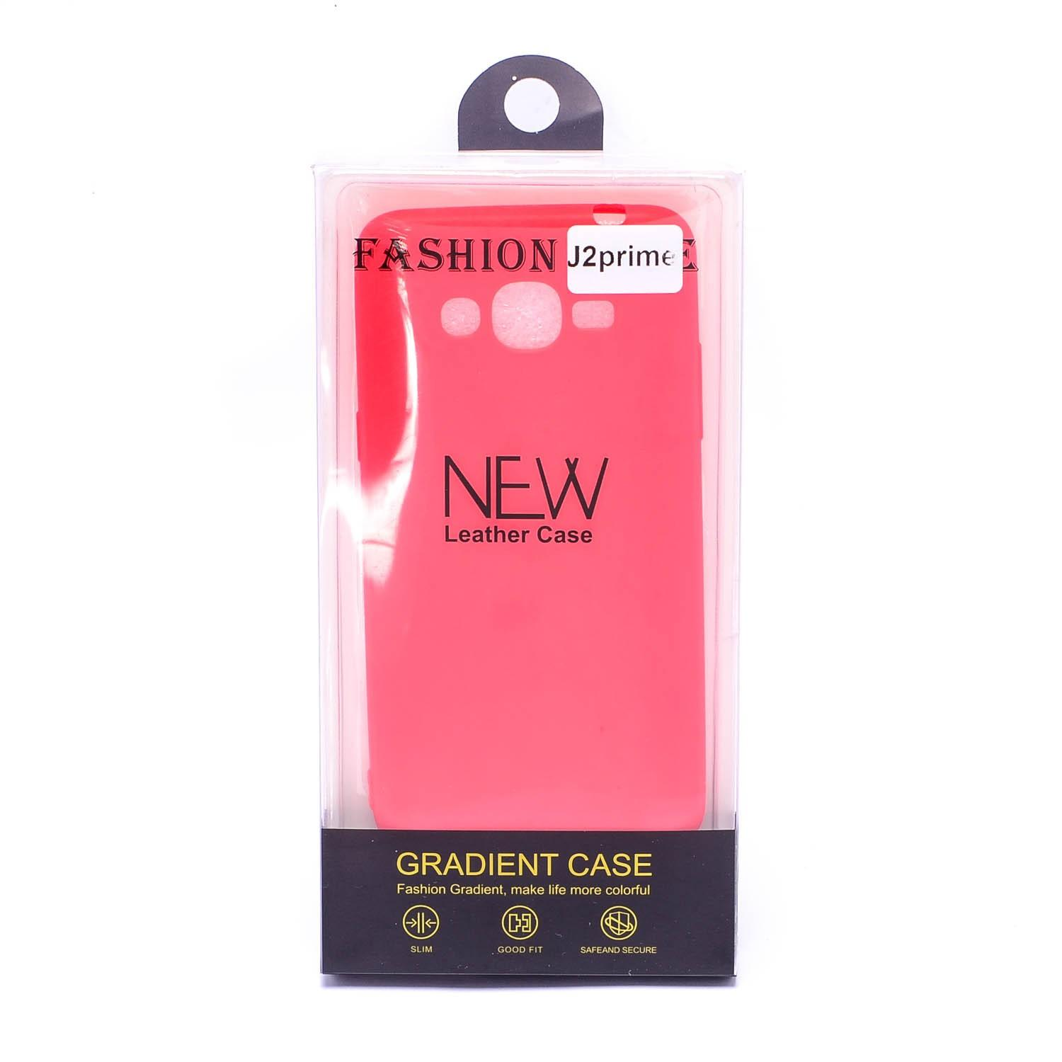 Glamorosa Mobile Soft Silicone Matte Fashion Case for SamsungGalaxy J2 Prime Red