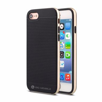 "Go Mobile Gears Neo Hybrid Case for iPhone 6/6S 4.7"" (Gold)"