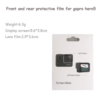 Go Pro Screen Tempered Glass Protective Film For GoPro Hero 5Camera Protector - intl - 3