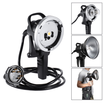 Godox H600B 600W Bowens Mount Off-flash Handheld Extension Head forGodox WITSTRO AD600B/AD600BM TTL 1/8000S Flash Strobe - Intl